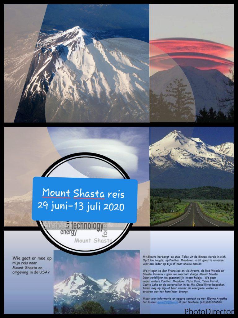Mount Shasta 29 juni t/m 3 juli 2020